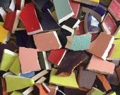 Mosaic Tiles Broken Plates Tesserae Art Supply 1000 Solid Mix All Colors Filler Hand Cut Set Assortment