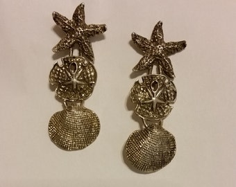 Lovely Thai 925 Silver Ocean Treasures Earrings