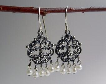 Pearl Chaya Earrings