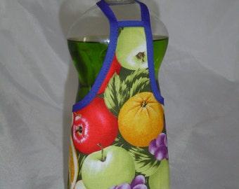 Fruits Orange Garden Decor Dish Soap Apron Bottle Cover Wrap Staffer Party Favor Lg