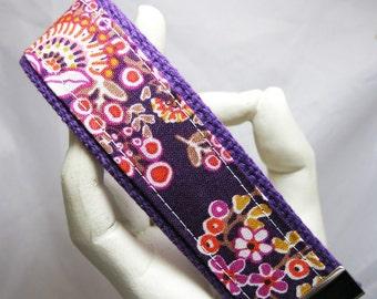 Keychain Purple Bouquet Wristlet Key Chain Key Fob