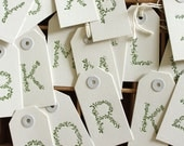 Hand Gathered Leaves - Gift Tags