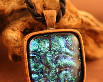 Deep Blue Waters Dichroic Pendant No. 23061