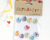 valentines gift for him, personalised magnets