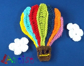 Crochet Applique balloon