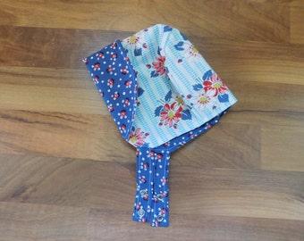 Reversible Toddler Bonnet : Floral