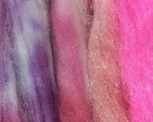 NEW Hand Dyed Firestar and Snow Mountain Nylon Grab bag 8 grams N-30