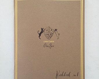 WORKBOOK no.1:  Beginning Modern Calligraphy Workbook