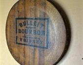 Salvaged Bulleit Bourbon Barrel Head