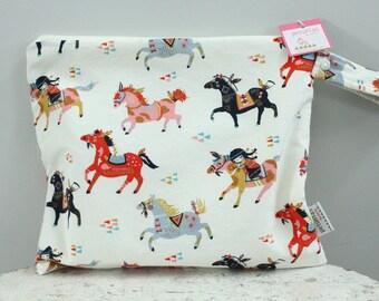Wet Bag wetbag Diaper Bag ICKY Bag pony PETUNIAS gym bag swim cloth diaper accessories zipper shower gift newborn baby child kids summer