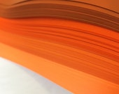 "3/8"" Weaving Paper Strips~ Vivid Oranges (100 strips)"