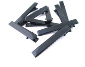 55mm Black Alligator Clips Hair Clips Barrettes (Large), C64
