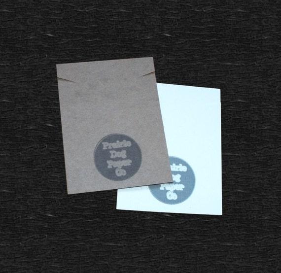 Necklace Cards, set of 30, Jewelry Cards, bracelet cards, 3x4 inch, jewelry display