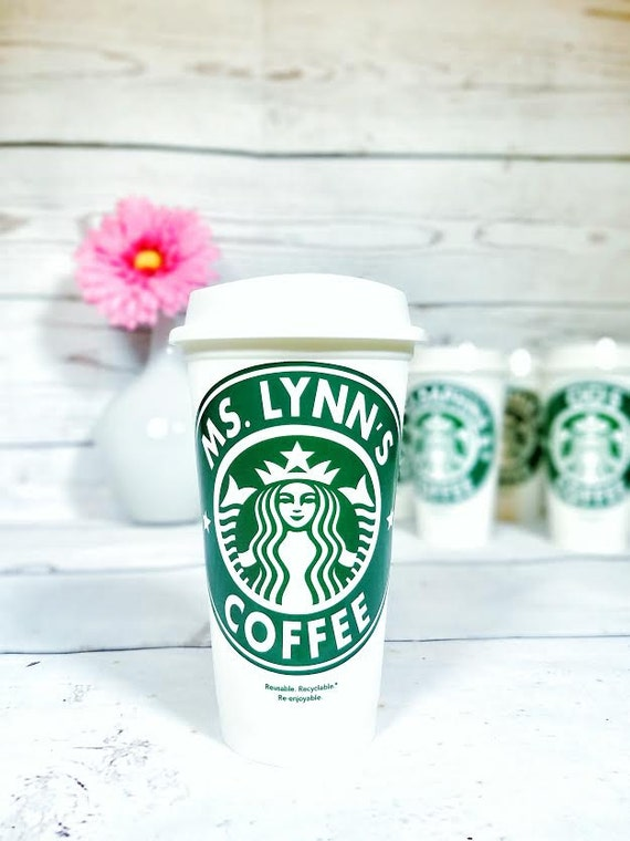 Personalized starbucks cup starbucks cup starbucks tumbler for Starbucks personalized tumbler template
