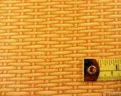"One Half Yard Cut Quilt Fabric, Lt. Tan Basket Weave/Rattan ""Harvest Botanicals"",Jane's Garden, Henry Glass, Sewing-Quilting-Craft  Supplies"