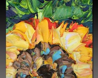 Oil Painting  NEW ORLEANS ART B. Sasik  Painting Original Palette Knife