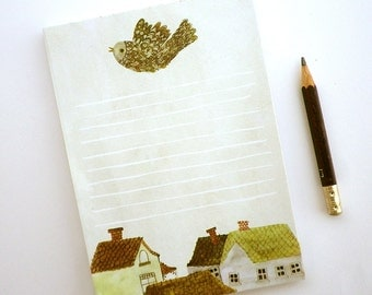 Village Notepad Illustrated stationery