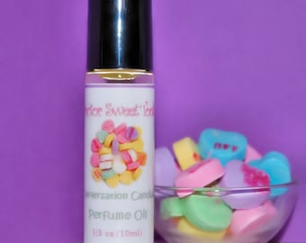 Conversation Hearts Perfume Oil Roll-On