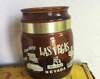 Vintage Siesta Ware Las Vegas Cup