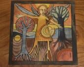 Winter Incantation - print