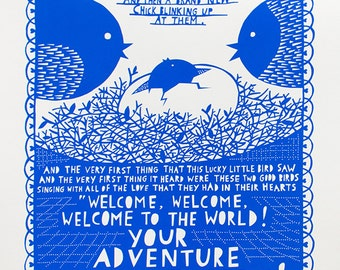 Your Adventure Screen print