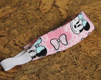 Adult Pink Minnie Headband