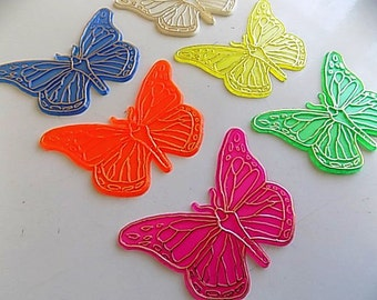 Vintage Plastic Butterflies Supplies
