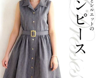 NICE SILHOUETTE DRESSES - Japanese Dress Pattern Book