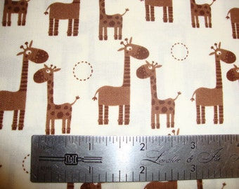 Riley Blake Giraffe Crossing cotton quilting fabric