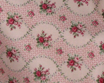 Laura Ashley Lilabet English Country Out of Print Fabric by the Yard