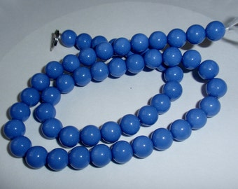 Periwinkle Glass Bead Strand 8mm, WHOLESALE PRICING
