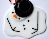 reserved for jfs56 - melted snowman and Santa