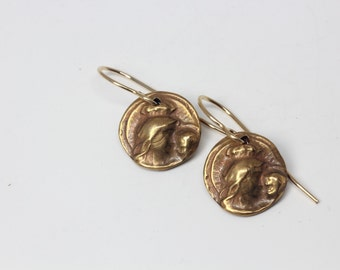 Madonna and Child, Mother and Child, Mary and Jesus earrings