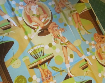 Alexander Henry - Futue Ella - pin up - cotton fabric - 2004