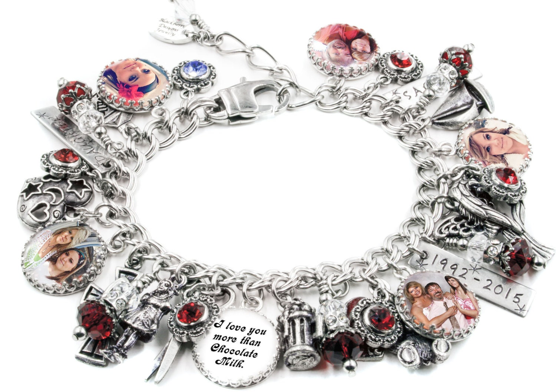 family jewelry keepsake family photo bracelet keepsake