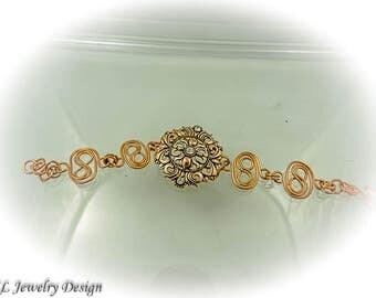 Double Infinity Link Bracelet