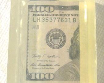 The Money Soap  One - 100 Dollar Bill