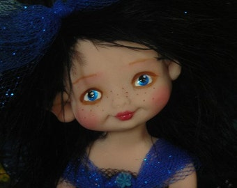 Fairy Fairies Fae pixie elf OOAK Fantasy Art Doll By Lori Schroeder 144KL