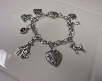 Sweet Chihuahua Charm Bracelet-Very Limited Edition