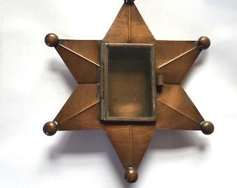 Tin Nicho #03 - Six Pointed Star