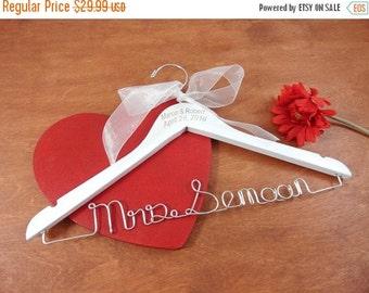 20% OFF SALE Personalized Wedding Hanger Wedding Hangers Name Wedding Hangers Coat Hanger Engraved Bridal Hanger Personalized Coat Hanger