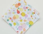 Hex Confetti Handkerchief