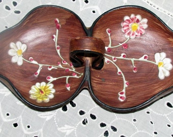 TIL Italy Candy Dish Hand Painted Vintage