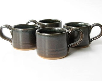 Espresso Cups, Demitasse, Set of 4