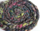 roving fiber top wool Sassy SMORGASBOARD UniVErSaL ReVivAL  3.5 ounce Hand Pulled Roving Art Fiber Spin Felt Craft Sparkle  - New