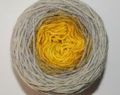 Brass and Steam Panoramic Gradient, 150g Greatest of Ease, dyed to order