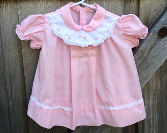 70s Baby Dress 9/12 Months