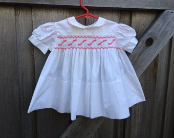 Feldman Brothers Smocked Dress 9/12 Months