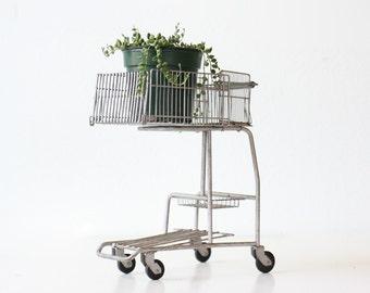 Vintage Shopping Cart, Salesman Sample