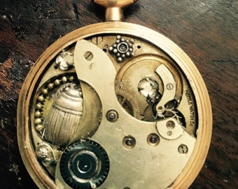 Pendant Steampunk Watch Parts